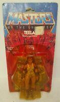 Teela MOTU He Man Figure 1982-83 Mattel Original SEALED NEW COMPLETE