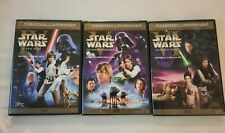 DVD Star wars Wide-screen Limited Edition Original Theatrical Trilogy