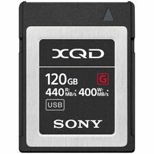 Sony G Series 120GB XQD Tarjeta de Memoria - QD-G120F