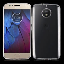 TPU Gel Jelly iSkin Case Cover for Motorola Moto G5S Ultra Clear Free SP