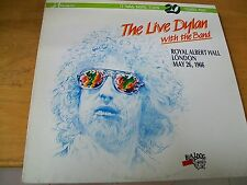 THE LIVE DYLAN WITH THE BAND  ROYAL ALBERT HALL LONDON 1966 LP