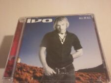 IVO All In All 2003 Enhanced CD Album NEW Sealed POST FREE