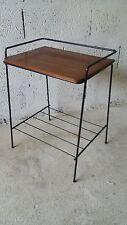 Table Bout de canapé guerridon sellette art déco vintage années 50 60 design