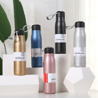 304 Stainless Steel Portable Vacuum Insulated Flask Water Bottle Cups Travel 1X