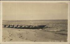 Ship Wreckage Chatham Cape Cod MA c1915 Real Photo Postcard