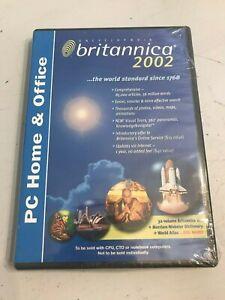BRITANNICA 2002, PC HOME & OFFICE - 32 VOLUME SET, Brand New Sealed!!