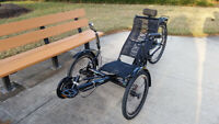 Ultimate Trike Folding Recumbent Bike Bicycle