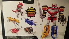 Hasbro 2020 Mmpr Power Rangers Dino Megazord; Complete Set of All Zords; Misb