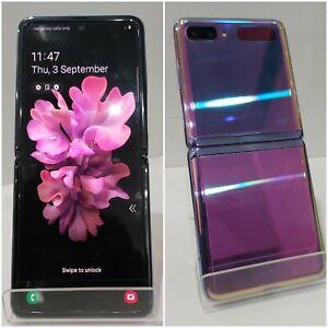 Samsung Galaxy Z Flip SM-F700F/DS-256 Purple Unlocked(Minor pixel fault on LCD)