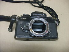 FUJICA ST801 35mm Film Camera Black Body Only Parts Only M42