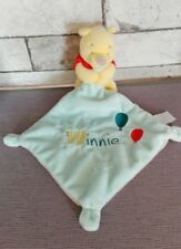Doudou PLAT Winnie Mouchoir Bleu Ballons Disney Baby Simba Nicotoy NEUF