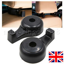 2x Black Seat Back Headrest Holder Hanger Hook Useful Auto Accessories UK FAST