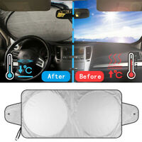 Car Front Window Sun Shade Visor Folding Auto Windshield Block Cover Protector R