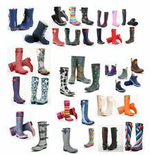 Botas de mujer multicolor de goma