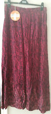 INDIGO RED MIX BOHO MAXI SKIRT SZE 8, 10 & 12  RRP £29.50 CLEARANCE