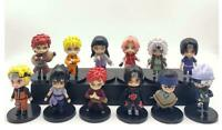 Naruto Gaara Kakashi 12pcs PVC figure figures doll toy dolls model