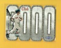 0639 2000 Fleer Club 3000 #CY Carl Yastrzemski BOSTON RED SOX CARD