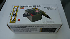PROXXON POWER SOURCE Transformer for Micromot Machines Carving Watchmaking NG 2S