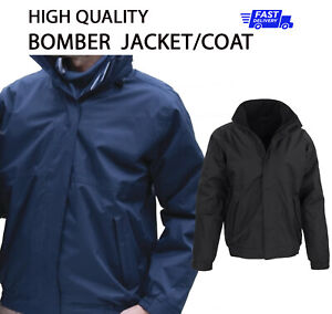 PLAIN NO TEXT Outdoor BOMBER Coat Waterproof Jacket Winter Work Wear E221M P