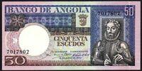 1973 Angola 50 Escudos Banknote * UNC * P-105 *