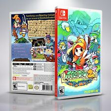 Ittle Dew 2 - Replacement Nintendo Switch Cover and Case. NO GAME!!