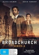 Broadchurch Series 3 Three Third DVD NEW Region 4 Olivia Colman David Tennant