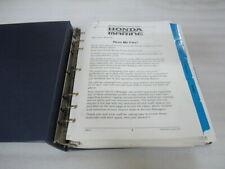 Honda Marine Service, Bulletins and Tech Tips Factory OEM Repair Manual Binder