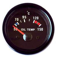 Jauge de température d'HUILE Instrument supplémentaire type universel afficher
