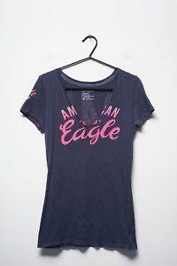 American Eagle Outfitters T-Shirt Blau Gr.M
