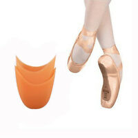 Useful 1Pair Of Ballet Dance Beige Silicone Pointe Shoe Toe Pads Pouch Insoles