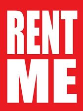 "RENT ME 18""x24"" STORE BUSINESS RETAIL PROMOTION SIGNS"