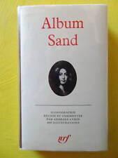 Album Pléiade Sand n° 12 1973 Georges Lubin