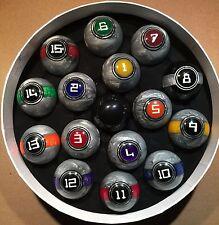 McDermott Galaxy Series Balls Pool Billiards Ball Set w/ Free Shipping