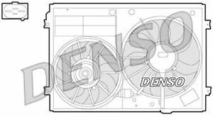DENSO RADIATOR COOLING FAN FOR A VW GOLF HATCHBACK 1.4 90KW