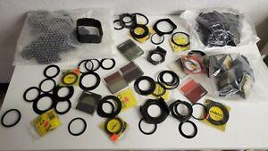 Huge Lot of Cokin A & P Series Adapter Holders Rings & Star D Resin Filters