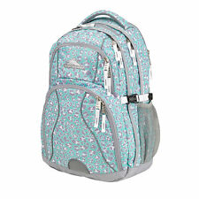 "NEW High Sierra Swerve Backpack for 17"" Laptops - Leopard Mint (75541-4968)"