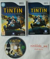 THE ADVENTURES OF TINTIN THE SECRET OF THE UNICORN Wii+U=GAME OF FILM. SNOWY=NM✔