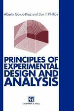 Principles of Experimental Design and Analysis by Don T. Phillips and Alberto...