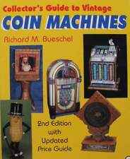 LIVRE/BOOK : Machines à sous  (Guide to Vintage Coin Machines,jackpot,jukebox ..