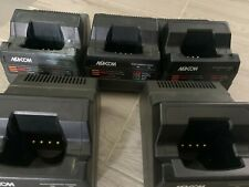 Lot Of 12 Used Ma Com Harris Tri Chemistry Rcharger Ch 104560 For P7100p7200