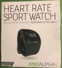 Mio Alpha 2 Continuous Heart Rate Watch Black M/L