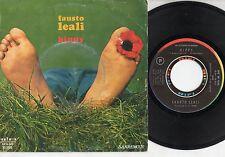 FAUSTO LEALI disco 45 giri MADE in ITALY 1970 SANREMO Hippy