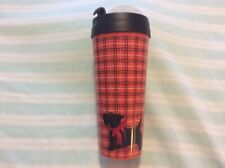 VERA BRADLEY Scottie Dog TRAVEL MUG HOT or COLD COFFEE  Plastic Cup