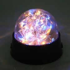 Romantic LED Firework Starry Light Copper Wire Crystal Ball Table Decor Lamp