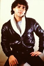 Handsome Young Man Wearing Jacket Straight Out Of The 1980's 35mm Slide B26