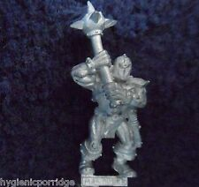 1997 Chaos Marauder Double Handed Mace Games Workshop Citadel Fighter Evil Army