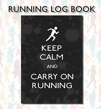 Running Log Book, Running Diary, Run Tracker, Run Recording Log, Runners Log 10