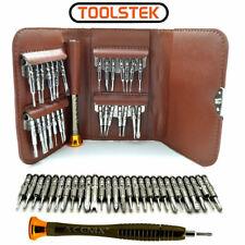 29 in 1 Brown Wallet Screwdriver Kit Repair Set for iPhone Samsung Nokia Macbook