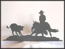 Cutting Horse Cutter Western Metal Art Silhouettes!