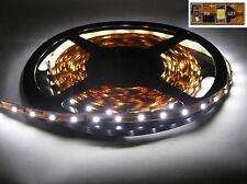 LED Licht Lichtband Strip Lichtschlauch WEIß 5 Meter flexibel 300 LEDs + TRAFO